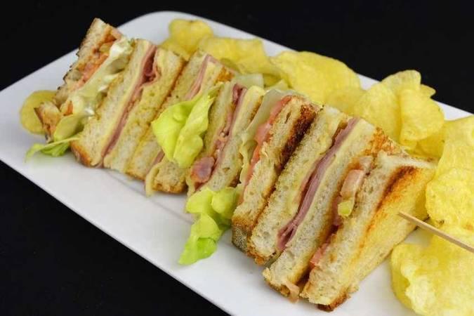 Paso 5 de 11 sándwiches variados para diferentes ocasiones