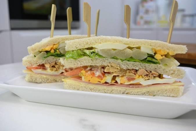 Paso 6 de 11 sándwiches variados para diferentes ocasiones