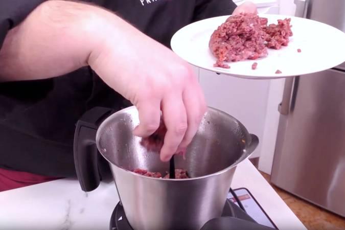 Paso 7 de Macarrones a la boloñesa en Mycook Touch