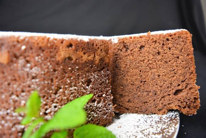 Paso 5 de Cómo hacer bizcocho de chocolate y yogur griego