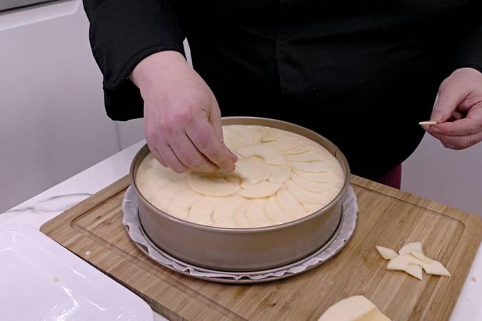 Paso 7 de Tarta de manzana y leche condensada