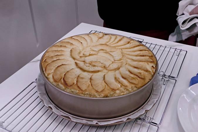 Paso 8 de Tarta de manzana y leche condensada