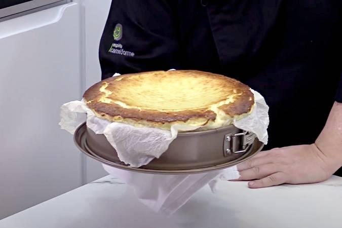 Paso 5 de Tarta de queso batido