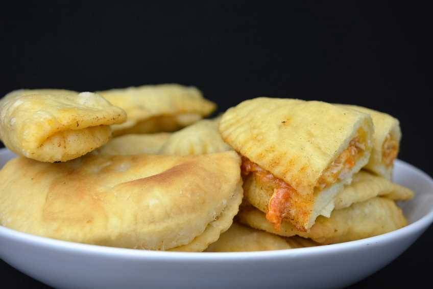 Paso 7 de Empanadillas de pollo con masa casera