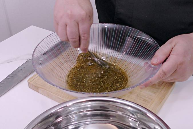 Preparamos la mezcla de especias