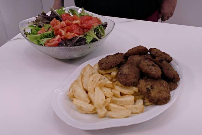 Presentamos la comida en la mesa