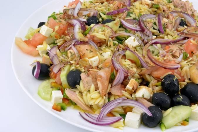 Paso 5 de Ensalada griega muy fácil y fresca