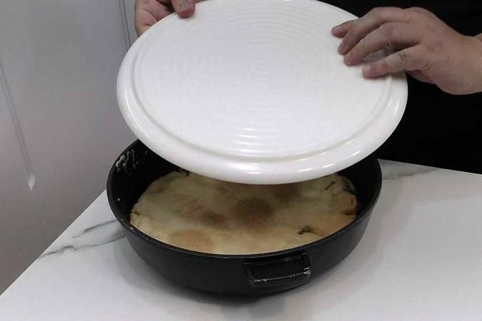 Paso 5 de Cómo hacer tarta tatín de pera