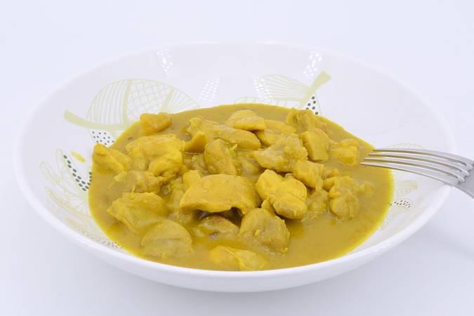 Ya hemos terminado la receta de pollo al curry