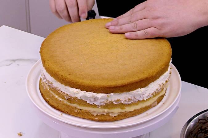 Terminamos de montar el interior de la tarta