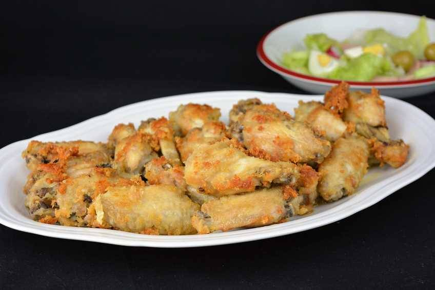 Paso 5 de Alitas de pollo al ajillo