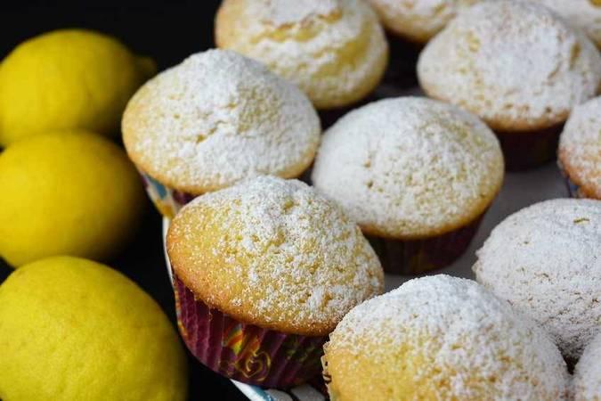Magdalenas con limón