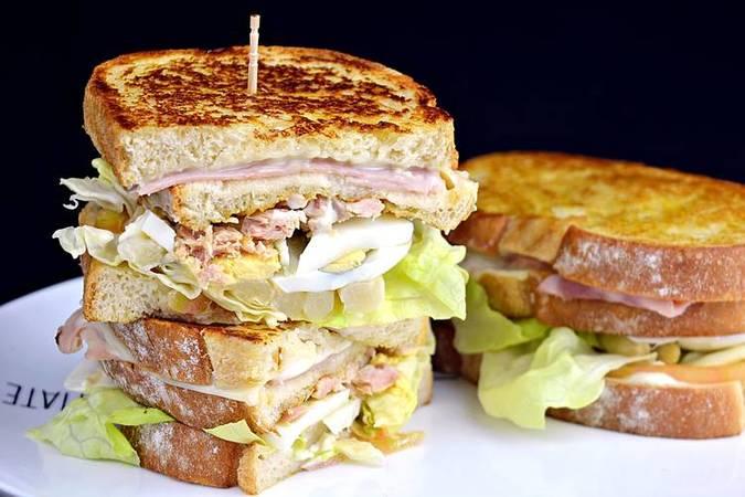 Paso 2 de 9 recetas de sándwiches y hamburguesas para cenar