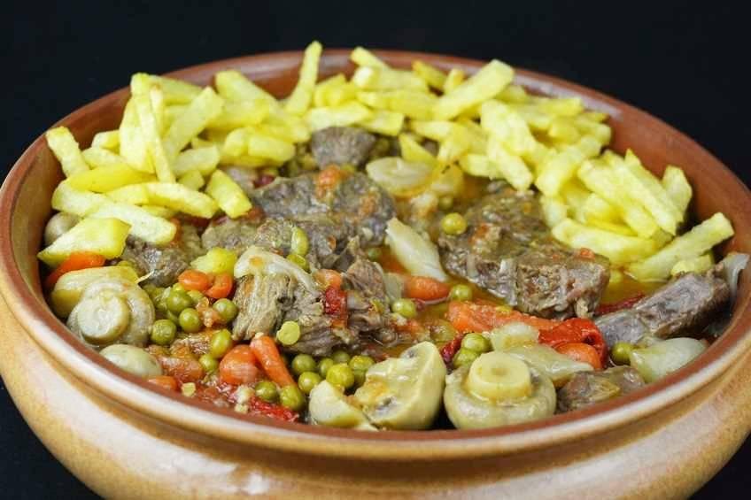 Paso 6 de Ternera estofada con verduras