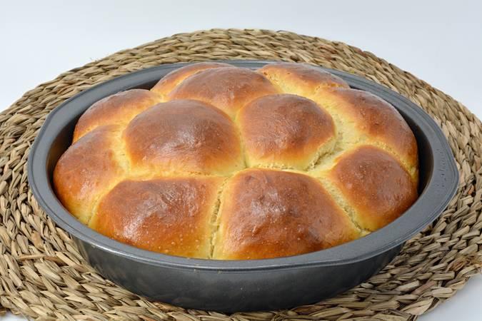 Ya hemos terminado el pan de leche casero