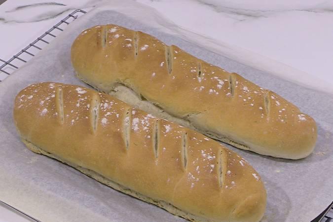 Dejar enfriar el pan
