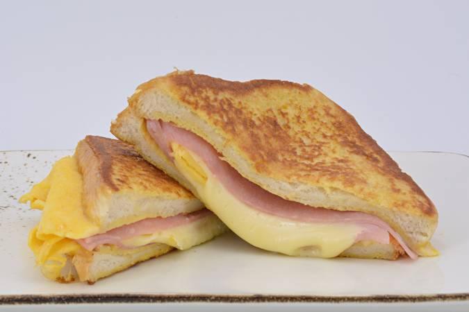 Ya hemos terminado el sándwich de huevo