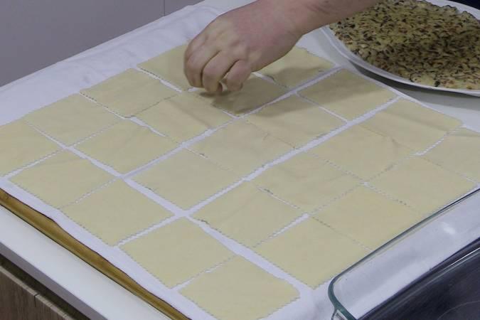Refrescar y secar la pasta