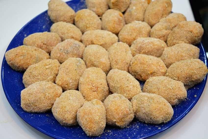 Paso 4 de Croquetas de mejillones picantes