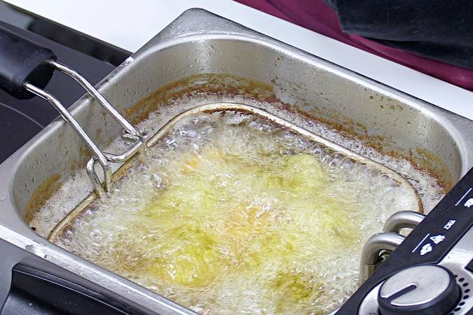Segunda fritura del pollo