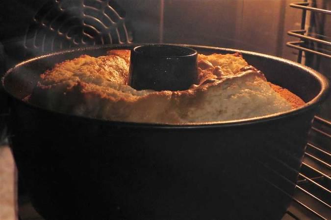 Hornear el pastel de limón
