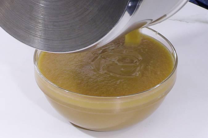 Preparar la compota de pera