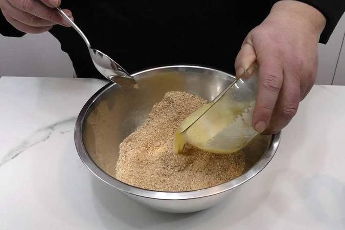 Preparar la base de la tarta