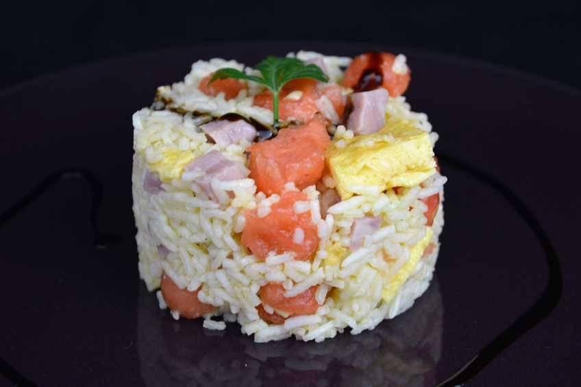 Paso 5 de Ensalada de arroz tres delicias