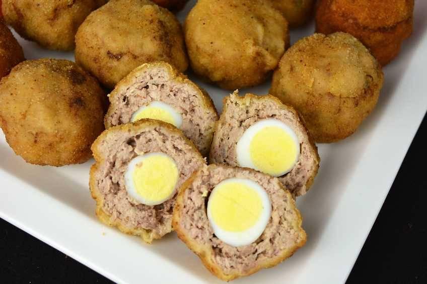 Paso 5 de Huevos escoceses