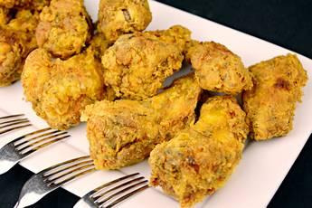 Alitas de pollo marinadas y crujientes