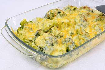 Brócoli gratinado, receta casera