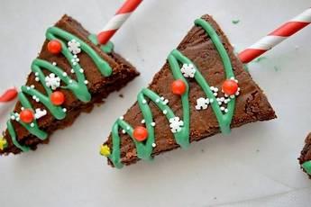 Brownies de Navidad, a disfrutar con los más peques