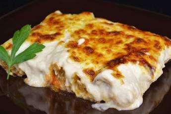 Canelones de carne, receta casera