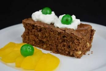 Cómo hacer brownie de chocolate con almendras