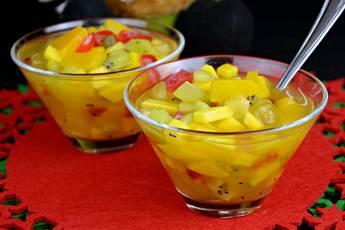 Cómo hacer cup de frutas o macedonia de frutas