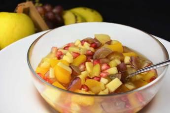 Cómo hacer cup de frutas