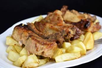 Costilla de cerdo agridulce, receta argentina
