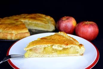 Empanada de manzana muy fácil