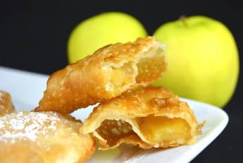 Empanadillas de manzana caramelizada
