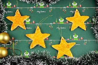 Galletas de Naranja, estrellas de la Navidad