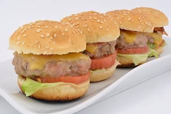 Hamburguesas mini, receta casera