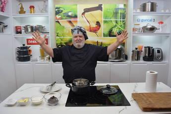 Javier Romero es candidato al título de mejor chef digital en España