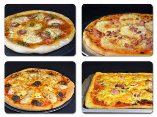 Masa para pizza y 4 recetas de pizza casera
