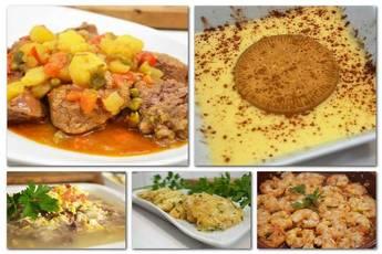 Menú 012 de Cocina Familiar