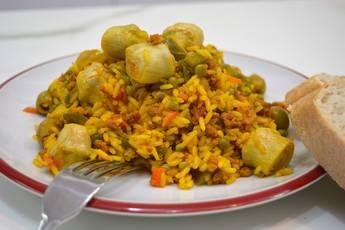 Como hacer arroz a la riojana con ingredientes riojanos