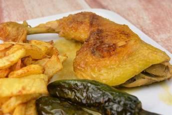 Receta de pollo en salsa con cerveza y limón