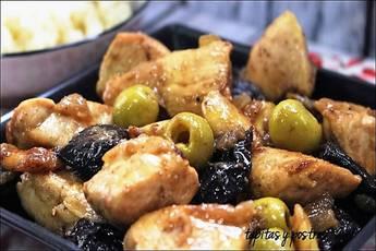 Receta de pollo a la moruna, sabor exótico