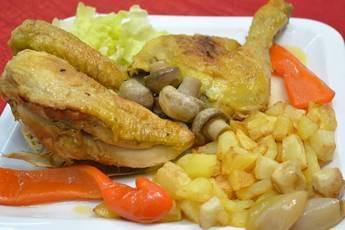 Como hacer pollo asado en cazuela, receta de la abuela