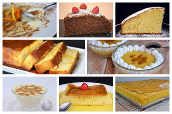 Postres tradicionales de la gastronomía española