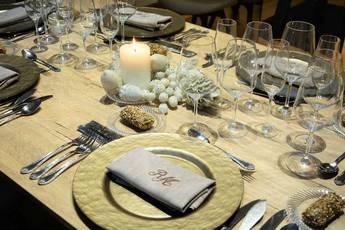 Protocolo para una mesa de Navidad
